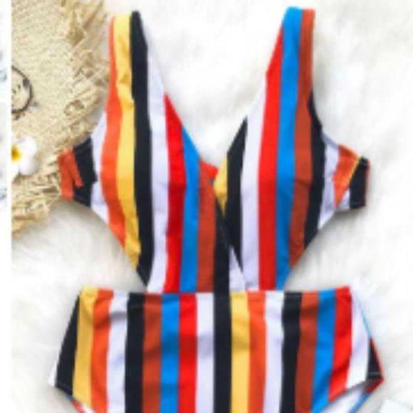 2be10d8ce89 Passing Fancy Stripe One-Piece Swimsuit. M_5b5770c6c9bf50de4e1ed0bd